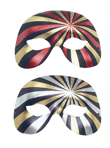1/2 face Forehead/Eyes 2 colour Eyemask Masquerade Ball Eye-Mask Eye Mask